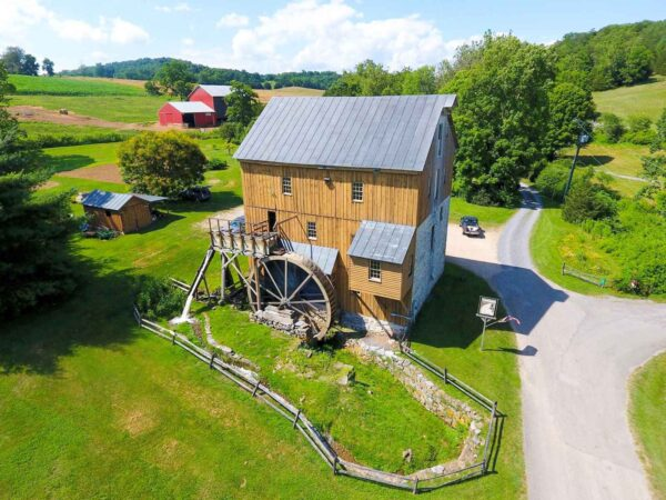 wade's mill aerial