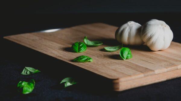 premium basil and garlic