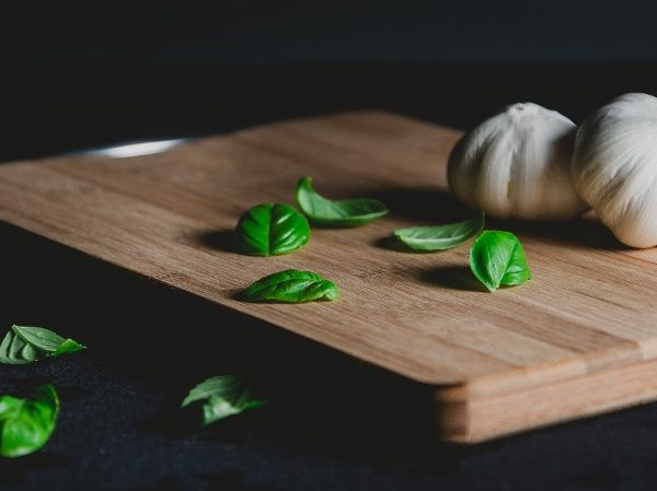premium basil and garlic
